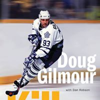 Doug Gilmour in Orangeville signing memoir