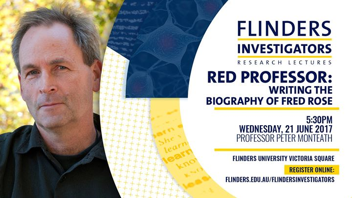 flinders investigators professor peter monteath at flinders at victoria square adelaide