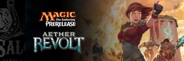 Pre - Release Tournament Aether Revolt