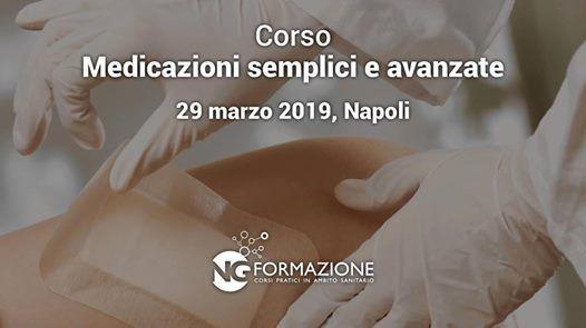 Napoli Corso Medicazioni Semplici e Avanzate