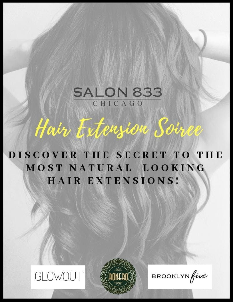 Discover The Secret To Natural Looking Hair Extensions At Salon 833