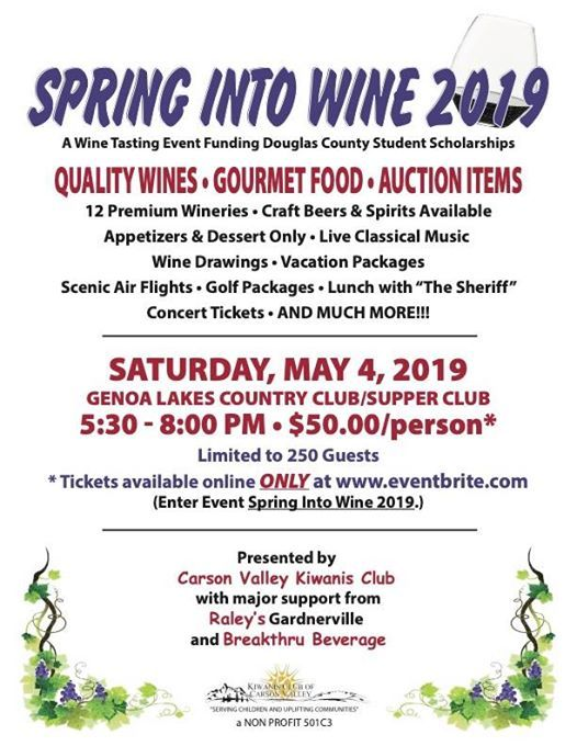 Spring Into Wine 2019 at Genoa Lakes Golf Course, Nevada