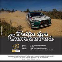 Festa dos Campees RallyPR 2017