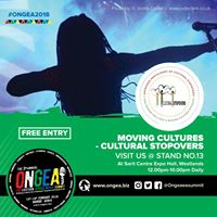 ONGEA 2018 Moving Cultures &amp Cultural stopovers Stand  13