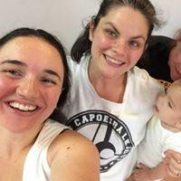 Mae (Mommy) Capoeira Demo