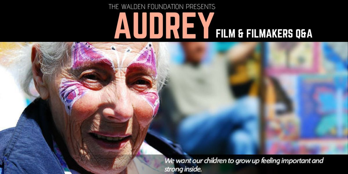 Audrey Film and Filmmaker Q&A