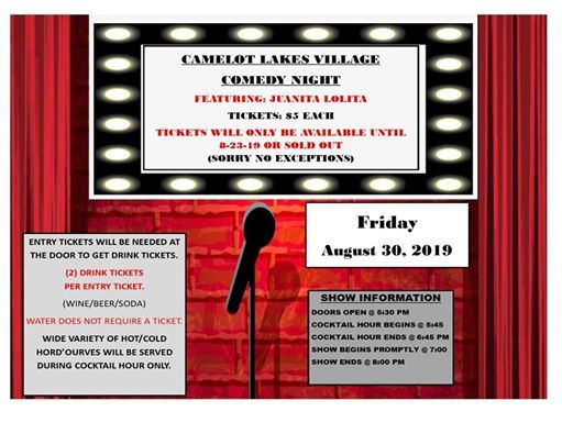 Camelot Lakes Village Comedy Night | Sarasota