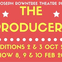 Auditions Joseph Rowntree Theatre presents The Producers
