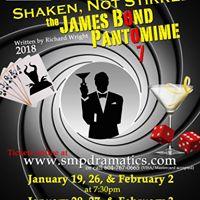 Shaken Not Stirred The James Bond Pantomime