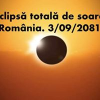 Eclipsa totala de soare Romania 3 Sept.2081