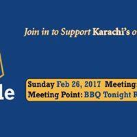 Karachi Kings Bicycle Ride - Im in