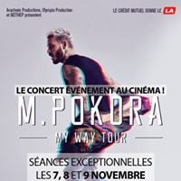 M. Pokora - &quotMy way tour&quot le concert au cinma