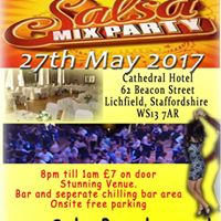 Salsa Party Night at Cathedral Hotel Lichfield 27th May 17