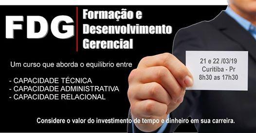 FDG - Formao e Desenvolvimento Gerencial