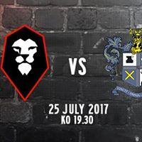 Salford City vs Bury