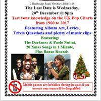 December Pop Quiz at the Newbury OLA (Last One)