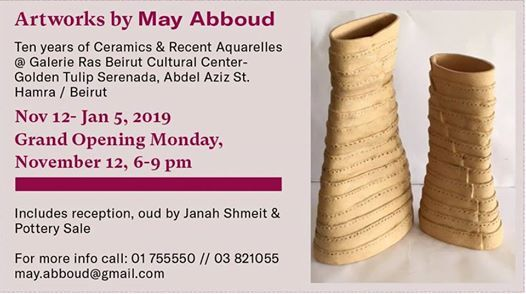 Artworks by May Abboud-Grand Opening
