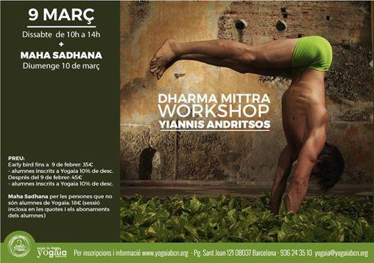 Dharma Yoga amb Yiannis Andritsos