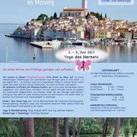 Yoga&ampUrlaub in Rovinj vom 2. - 5. Juni 2017