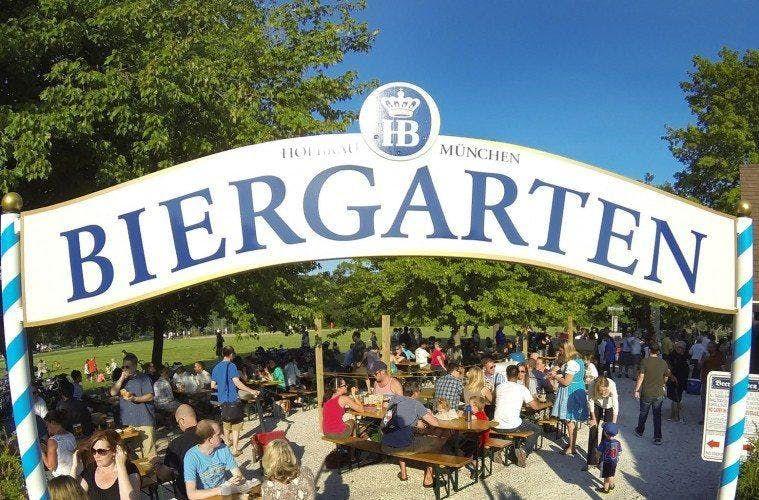 Yoga At Estabrook Beer Garden
