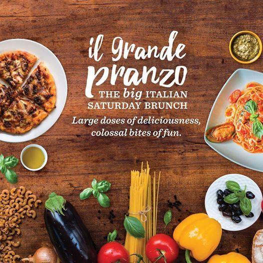 IL Grande Pranzo- The Big Italian Saturday Brunch