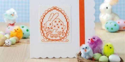 Cross Stitch Cards for Easter