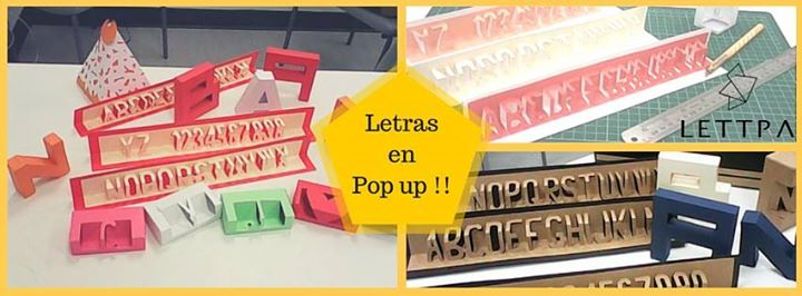 taller letras en pop up at lettra lima