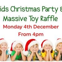 Free Kids Christmas Party and Massive Toy Raffle