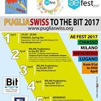 PugliaSwiss to AEFest 2017 a Global Events and to the BIT 2017