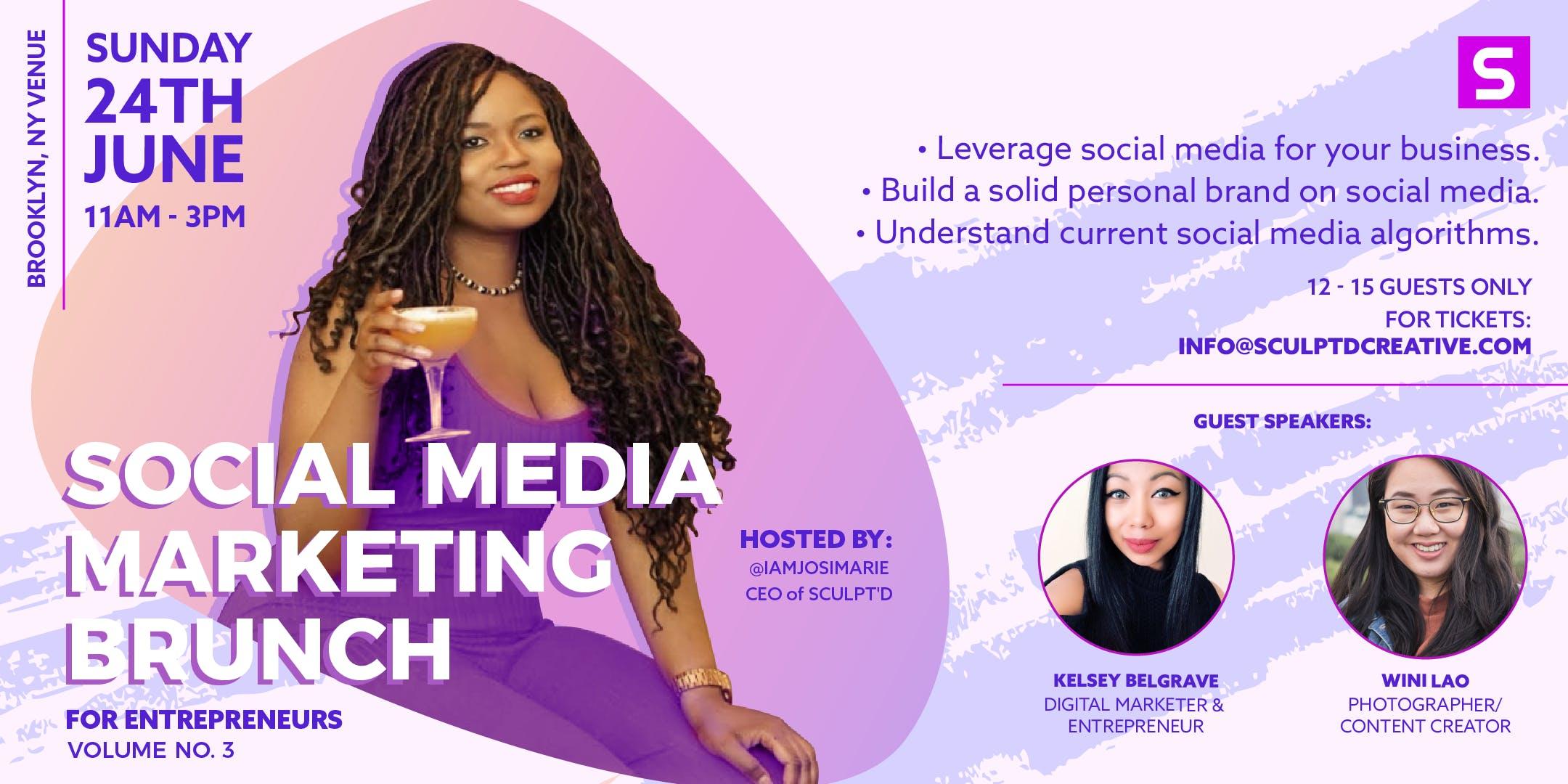 Social Media Marketing Brunch for Entrepreneurs