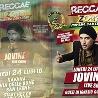 Luned Reggae Zone allHavana special guest Jovine