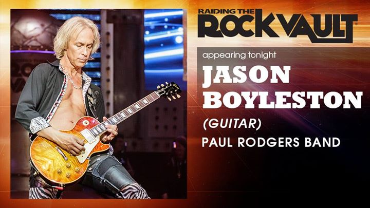Guitarist Jason Boyleston (Paul Rodgers band) Live at Hard Rock