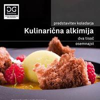 Predstavitev koledarja Kulinarina alkimija