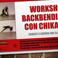 Workshop Backbending con Chikako