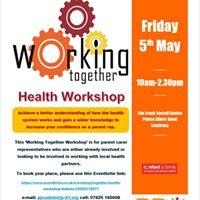 Working Together Health Workshop