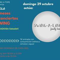 Swing JAM Concert 2 - Diumenge 29102017