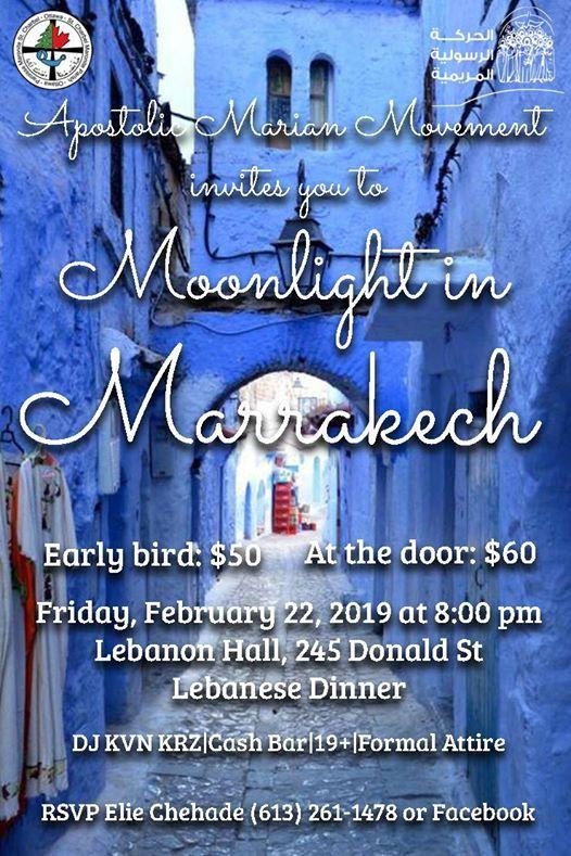 Moonlight in Marrakech