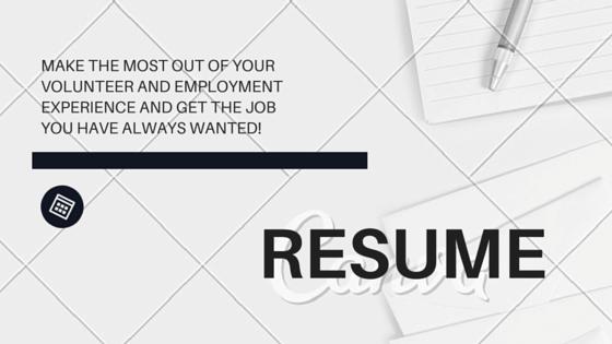 resume workshop at humber international centre toronto