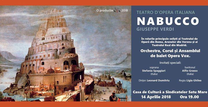 Opera Nabucco Satu Mare