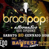 20.01.18 - EDO  BAY FEST Party &amp BradiSound Dj Sets