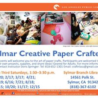 Sylmar Creative Paper Crafters