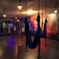 Aerial Yoga Swing Class with Lyn