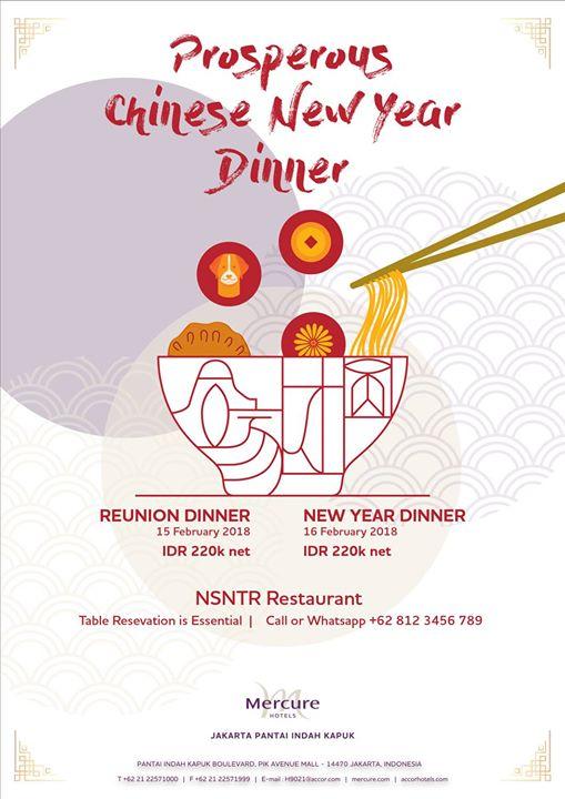Prosperous CNY Dinner