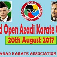 1st Islamabad Open Azadi Karate Championship