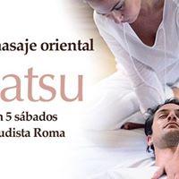 Curso de masaje oriental Shiatsu