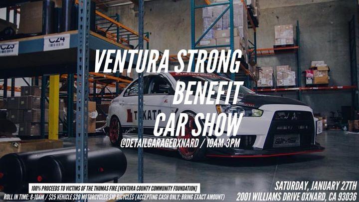 Ventura Strong Benefit Car Show At Detail Garage Oxnard - Oxnard car show