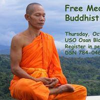Free Meditation Class with Buddhist Monk