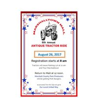 6th Annual Antique Tractor Ride
