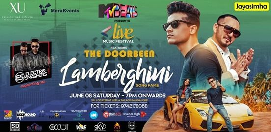 Lamberghini song fame The Doorbeen Live In Bangalore