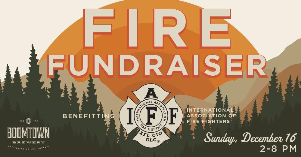 Fire Fundraiser at Boomtown Brewing